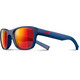 Julbo Reach L Spectron 3CF Sunglasses Junior 10-15Y Matt Blue-Multilayer Red
